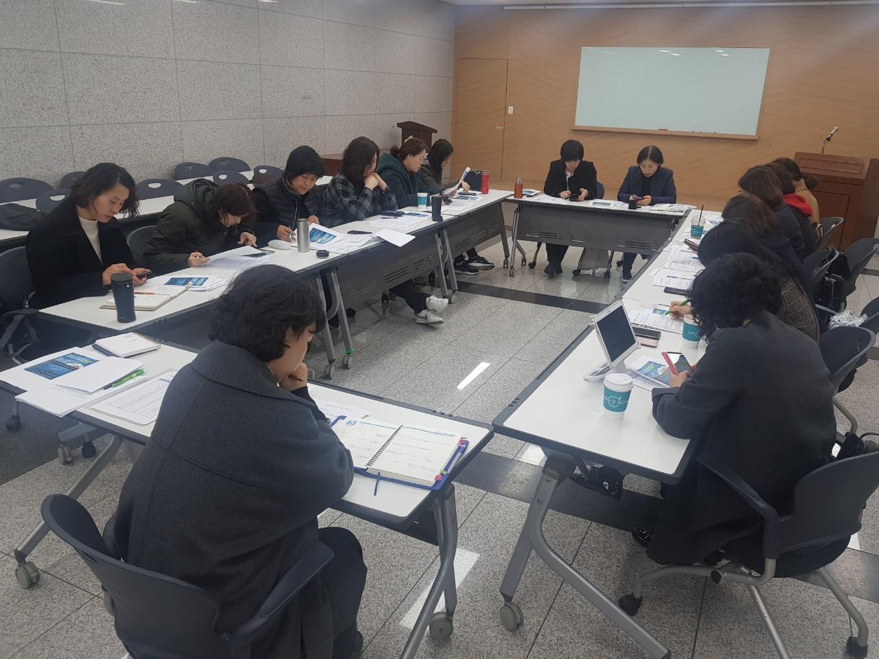 2019 마포혁신교육지구 학부모위원회 3월 2차 정기회 결과