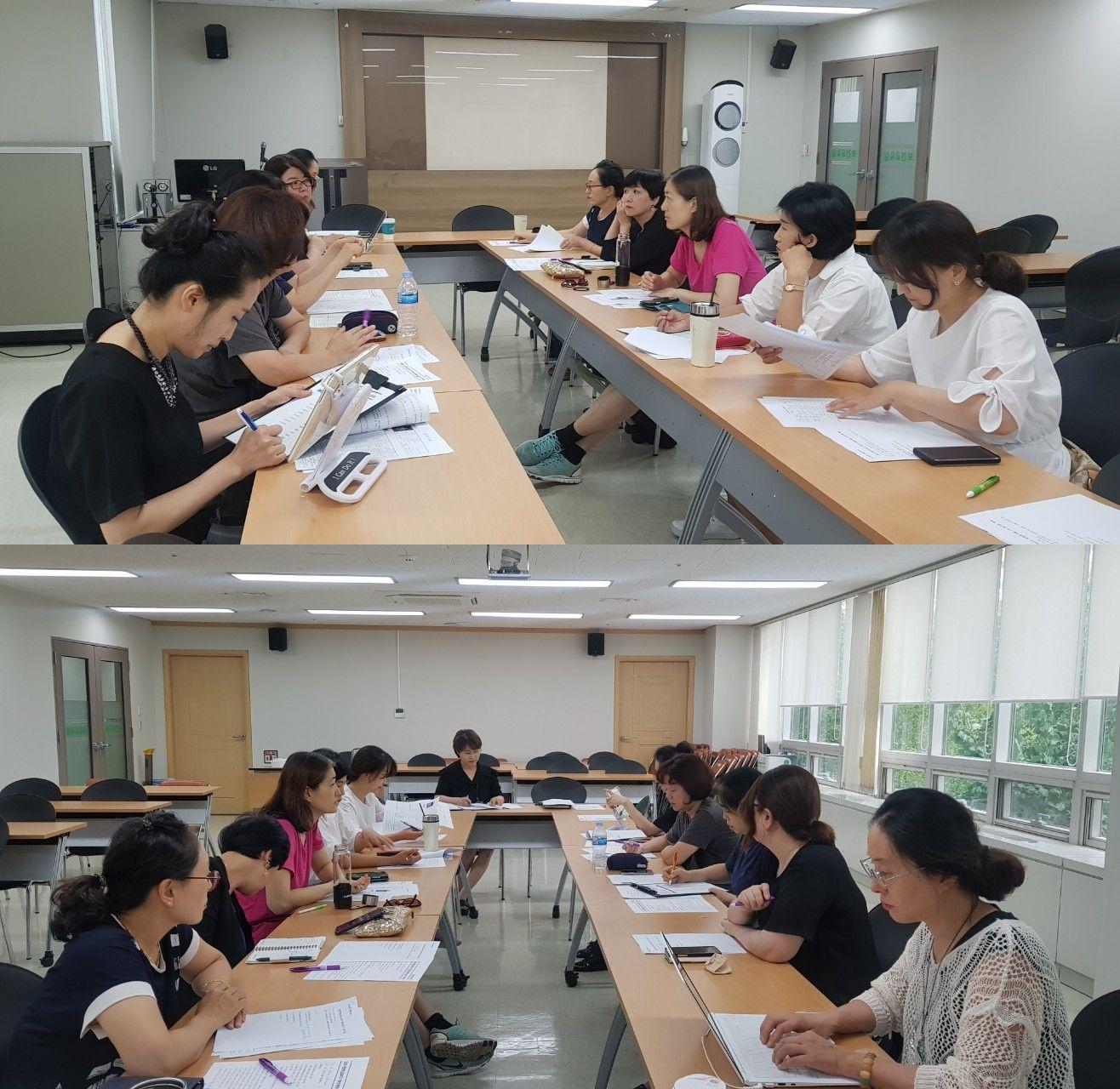 2019 마포혁신교육지구 학부모위원회 8월1차 정기회