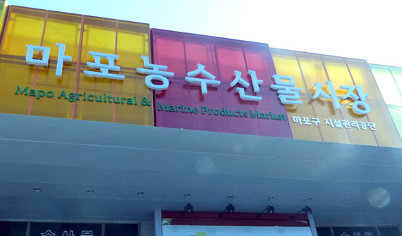 Mapo Agricultural and Marine Products Market ,Cover Image